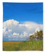Shark River Slough - 1 Fleece Blanket