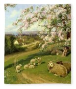 Spring - One Of A Set Of The Four Seasons  Fleece Blanket