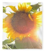 Sun Flower Fleece Blanket