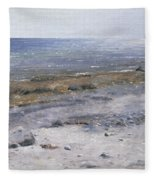 The Beach Mols Fleece Blanket