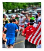 0001 Buffalo Marathon Series 2012  Fleece Blanket