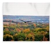 001 Letchworth State Park Series  Fleece Blanket