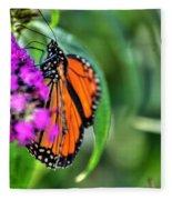 001 Making Things New Via The Butterfly Series Fleece Blanket