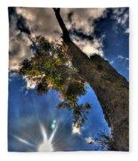 001 Reaching For The Sky Fleece Blanket