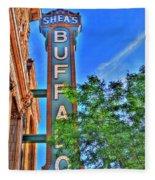 001 Sheas Buffalo Fleece Blanket