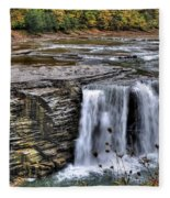 0017 Letchworth State Park Series  Fleece Blanket