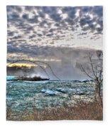 0018 View Of Horseshoe Falls From Terrapin Point Series Fleece Blanket