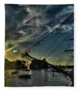 002 Uss Niagara 1813 Series  Fleece Blanket