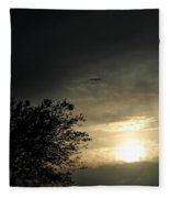 002 When Feeling Down  Pick Your Head Up To The Skies Series Fleece Blanket