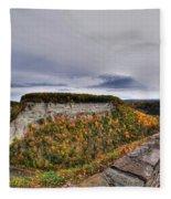 0024 Letchworth State Park Series   Fleece Blanket
