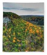 0025 Letchworth State Park Series   Fleece Blanket