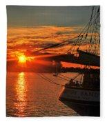 003 Empire Sandy Series  Fleece Blanket