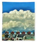 003 Grand Island Bridge Series  Fleece Blanket