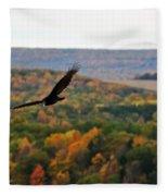 003 Letchworth State Park Series  Fleece Blanket