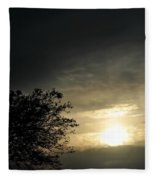 003 When Feeling Down  Pick Your Head Up To The Skies Series Fleece Blanket