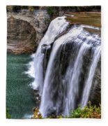 0036 Letchworth State Park Series  Fleece Blanket