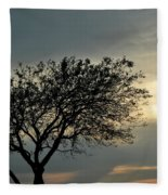 004 When Feeling Down  Pick Your Head Up To The Skies Series Fleece Blanket