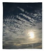 005 When Feeling Down  Pick Your Head Up To The Skies Series Fleece Blanket