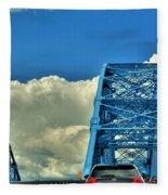 006 Grand Island Bridge Series Fleece Blanket