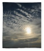 006 When Feeling Down  Pick Your Head Up To The Skies Series Fleece Blanket