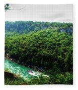 007 Niagara Gorge Trail Series  Fleece Blanket