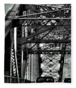 008 Grand Island Bridge Series Fleece Blanket