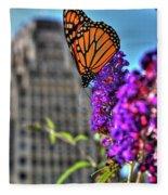 008 Making Things New Via The Butterfly Series Fleece Blanket
