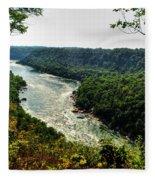 009 Niagara Gorge Trail Series  Fleece Blanket