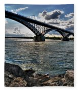 009  Peace Bridge Series II Beautiful Skies Fleece Blanket