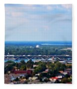01 Toy Peace Bridge Fleece Blanket