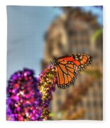 010 Making Things New Via The Butterfly Series Fleece Blanket
