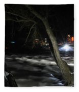 011 Niagara Falls Usa Rapids Series Fleece Blanket