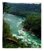 011 Niagara Gorge Trail Series  Fleece Blanket