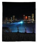 013 Niagara Falls Usa Series Fleece Blanket