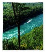 013 Niagara Gorge Trail Series  Fleece Blanket