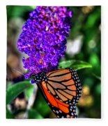 015 Making Things New Via The Butterfly Series Fleece Blanket
