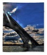 016 Peace Bridge Series II Beautiful Skies Fleece Blanket