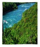 017 Niagara Gorge Trail Series  Fleece Blanket