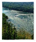 018 Niagara Gorge Trail Series  Fleece Blanket