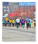 018 Shamrock Run Series Fleece Blanket