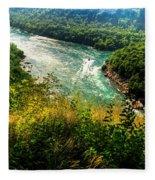 019 Niagara Gorge Trail Series  Fleece Blanket