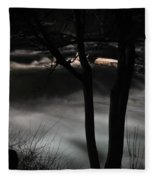 02 Niagara Falls Usa Rapids Series Fleece Blanket