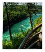 020 Niagara Gorge Trail Series  Fleece Blanket