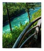 021 Niagara Gorge Trail Series  Fleece Blanket