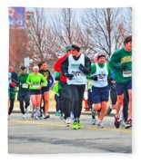 021 Shamrock Run Series Fleece Blanket