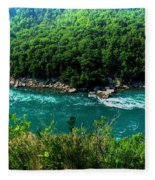 022 Niagara Gorge Trail Series  Fleece Blanket