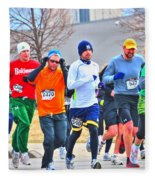 022 Shamrock Run Series Fleece Blanket