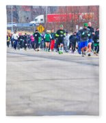 026 Shamrock Run Series Fleece Blanket