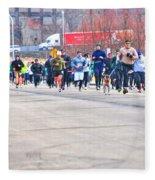027 Shamrock Run Series Fleece Blanket