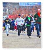 032 Shamrock Run Series Fleece Blanket